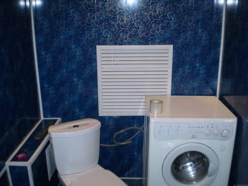 Дизайн туалета пластиком